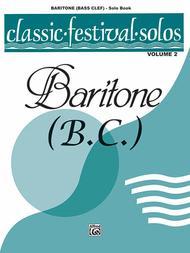 Classic Festival Solos (Baritone B.C.), Volume II Solo Book
