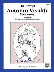 The Best of Antonio Vivaldi Concertos (For String Orchestra or String Quartet), Volume 1