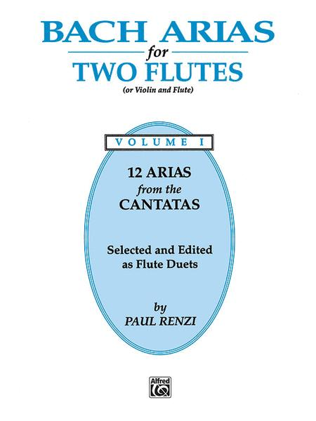 Bach Arias for Two Flutes, Volume 1