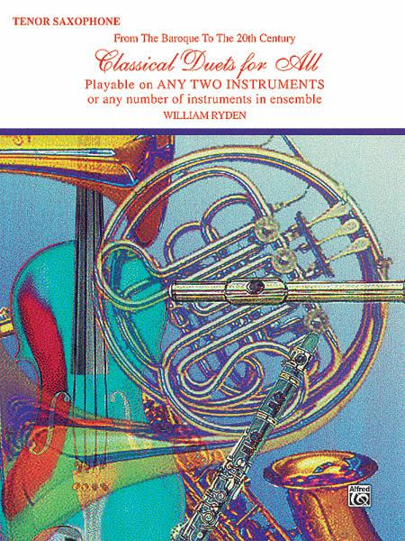 Classical Duets For All (Tenor Saxophone)
