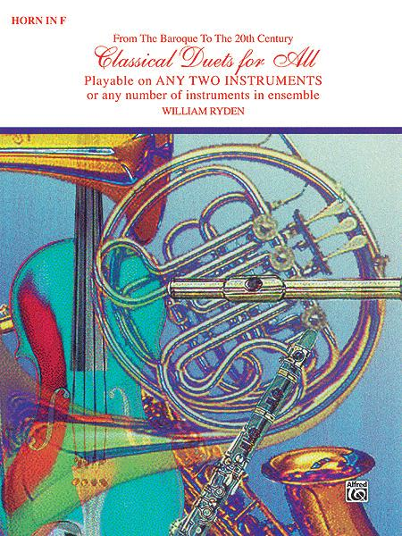 Classical Duets For All (Horn In F)
