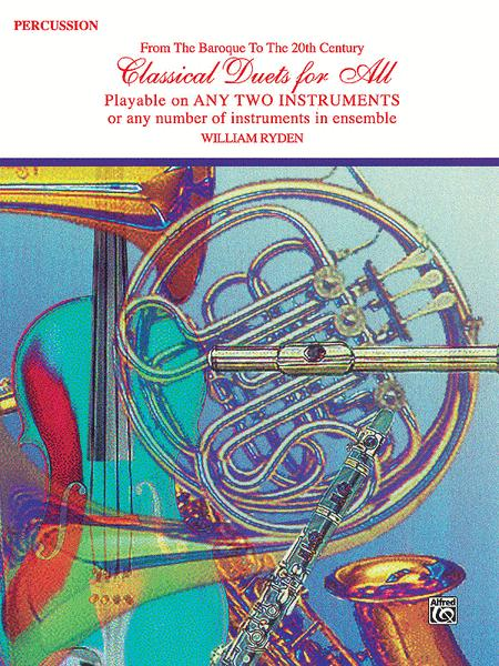 Classical Duets For All (Percussion)