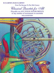 Classical Quartets for All (From the Baroque to the 20th Century)