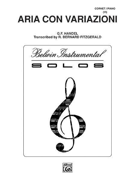 Aria Con Variazioni - Trumpet/Piano