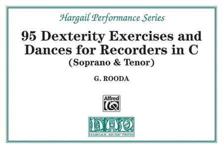 Finger Dexterity Exercises And Pieces For C Recorders (Soprano & Tenor)