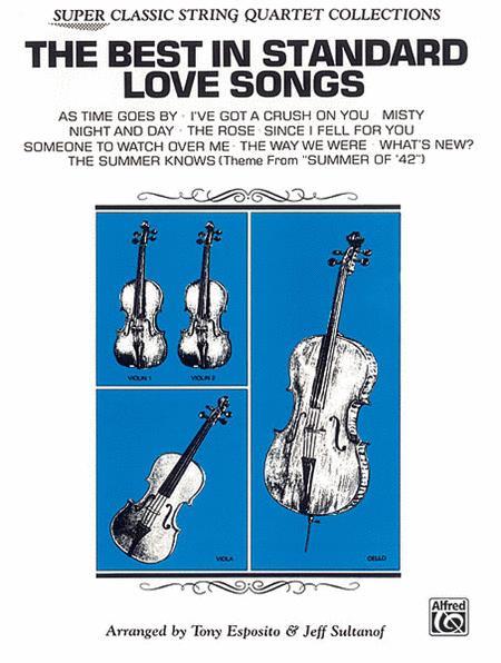 The Best in Standard Love Songs