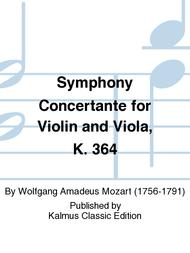 Symphony Concertante for Violin and Viola, K. 364