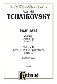 Swan Lake, Op. 20, Complete Ballet