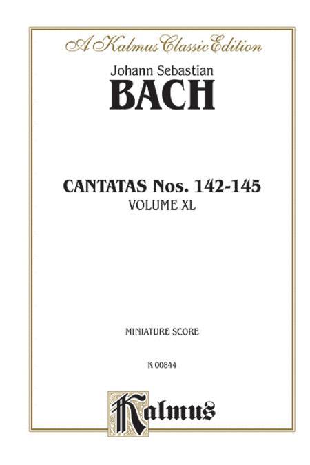 Cantatas No. 142-145