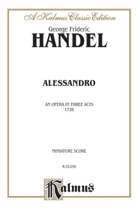 Alessandro (1726)