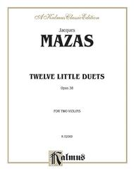 Twelve Little Duets, Op. 38