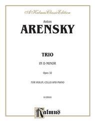 Trio in D Minor, Op. 32