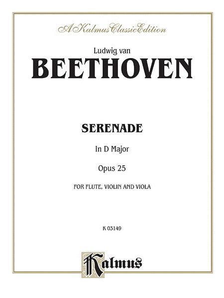 Serenade, Op. 25
