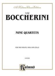 Nine Selected String Quartets