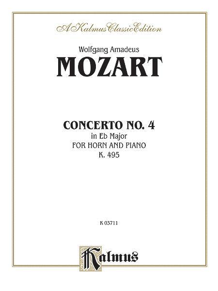 Horn Concerto No. 4 in E-flat Major, K. 495