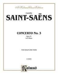 Violin Concerto, No. 3