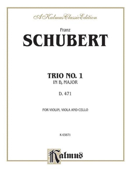 Trio No. 1 in B-flat Major
