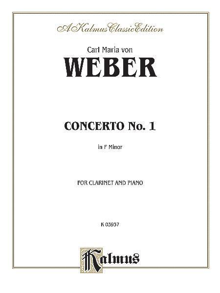 Clarinet Concerto No. 1 in F Minor, Op. 73 (Orch.)