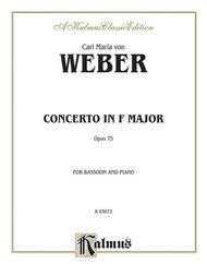 Bassoon Concerto, Op. 75 (Orch.)