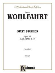 Sixty Studies, Op. 45, Volume 1
