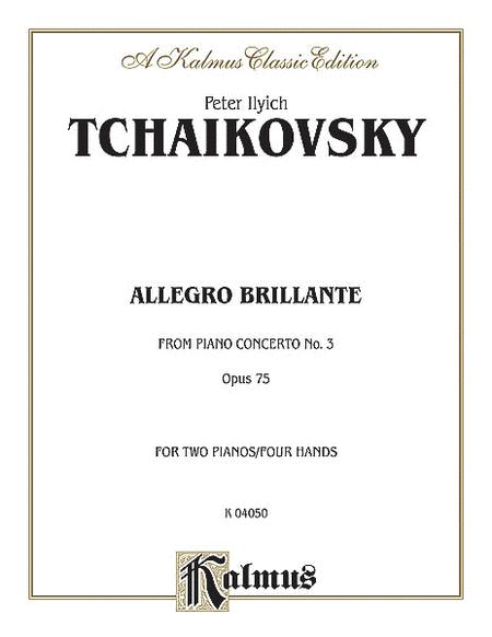 Piano Concerto No. 3, Op. 75, (1st movement only) (Allegro Brillante)