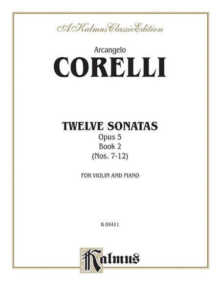 Twelve Sonatas, Op. 5, Volume 2