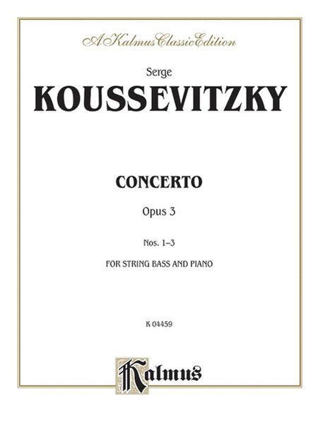 Concerto, Op. 3