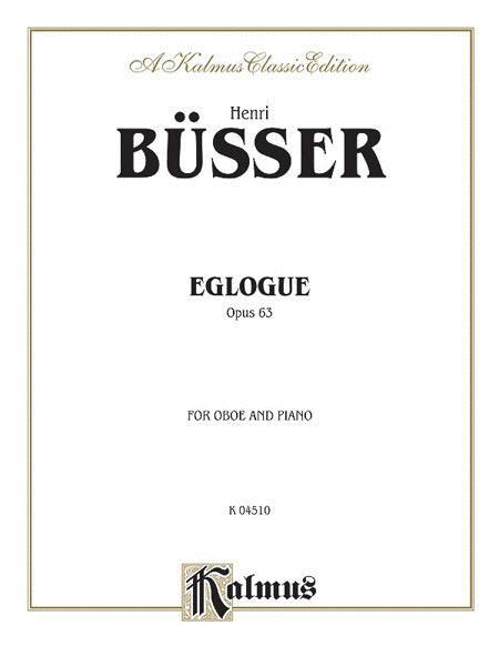 Eglogue, Op. 63
