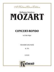 Concert-Rondo in A-flat Major, K. 371