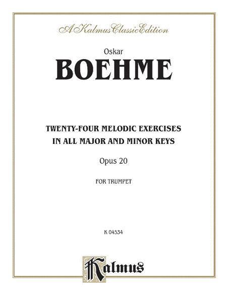 Twenty-four Melodic Exercises, Op. 20