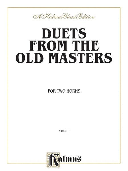 Duets from the Old Masters for Two Horns