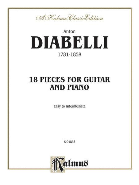 18 Pieces for Guitar and Piano