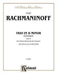 Trio Elegiaque, Opus 9