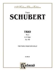 Trio No. 2 in E-flat Major, Op. 100