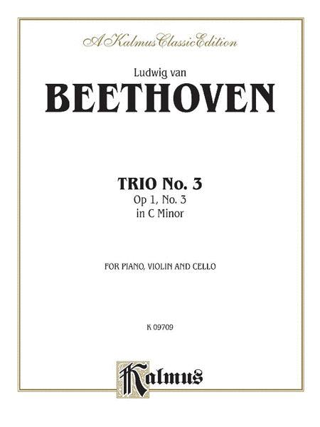 Piano Trio No. 3 -- Op. 1, No. 3