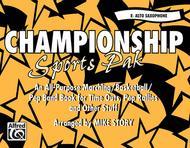 Championship Sports Pak - Eb Alto Saxophone