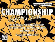 Championship Sports Pak - Optional Baritone/Electric Bass