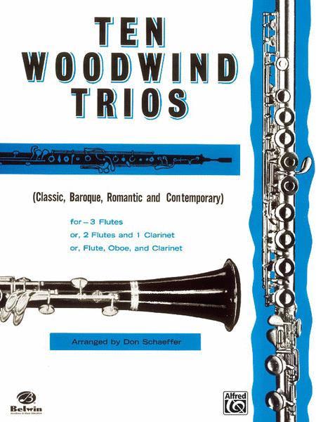 Ten Woodwind Trios