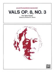 Vals, Op. 8, No. 3