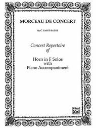Morceau De Concert - Horn/Piano