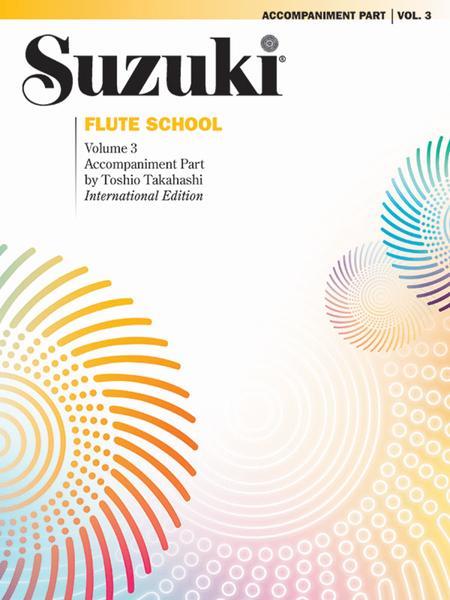 Suzuki Flute School, Volume 3
