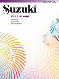 Suzuki Viola School, Volume 4 - Viola Part