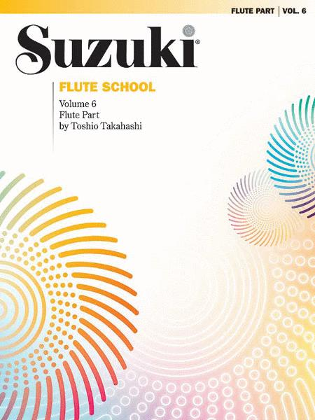 Suzuki Flute School, Volume 6