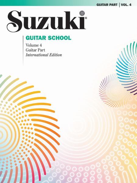 Suzuki Guitar School, Volume 4