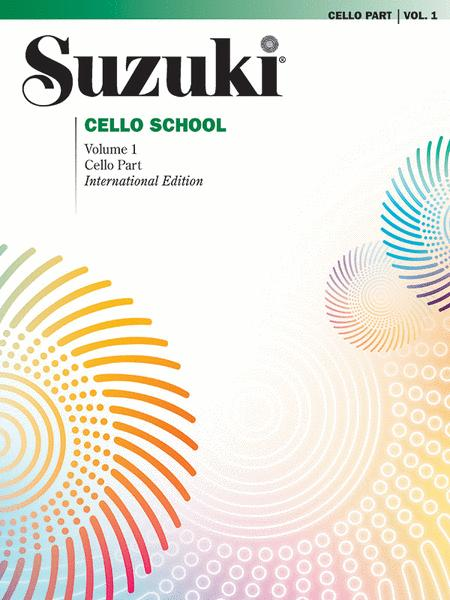 Suzuki Cello School, Volume 1 - Cello Part