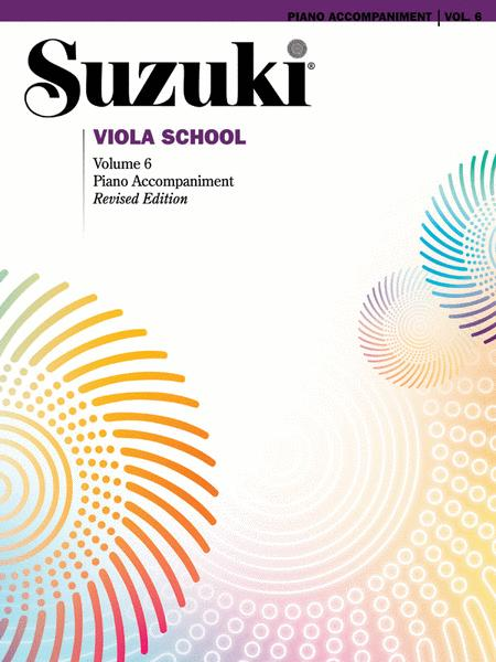 Suzuki Viola School, Volume 6