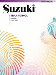 Suzuki Viola School, Volume 7