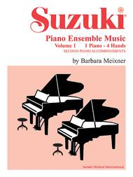 Suzuki Piano Ensemble Music for Piano Duet, Volume 1
