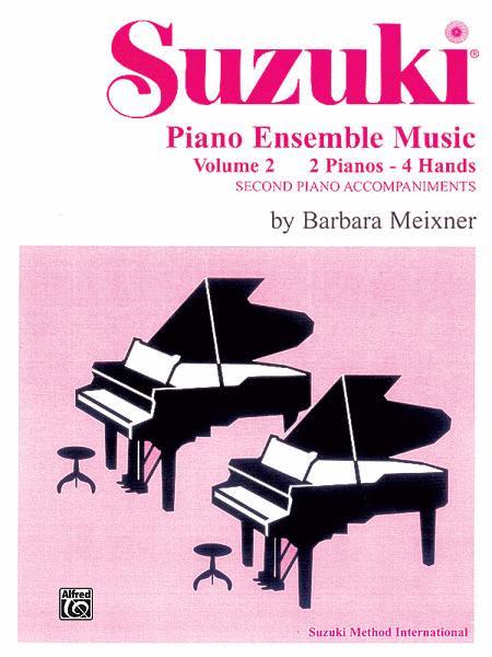 Suzuki Piano Ensemble Music for Piano Duo, Volume 2
