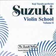 Suzuki Violin School, Volume 6 - Compact Disc